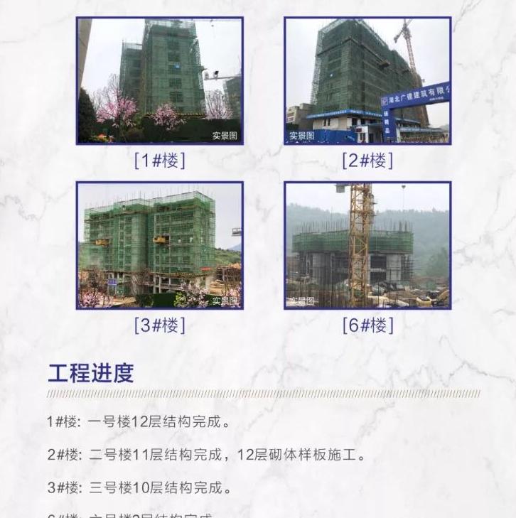 1#,2#,3#,6#号楼主体结构建设