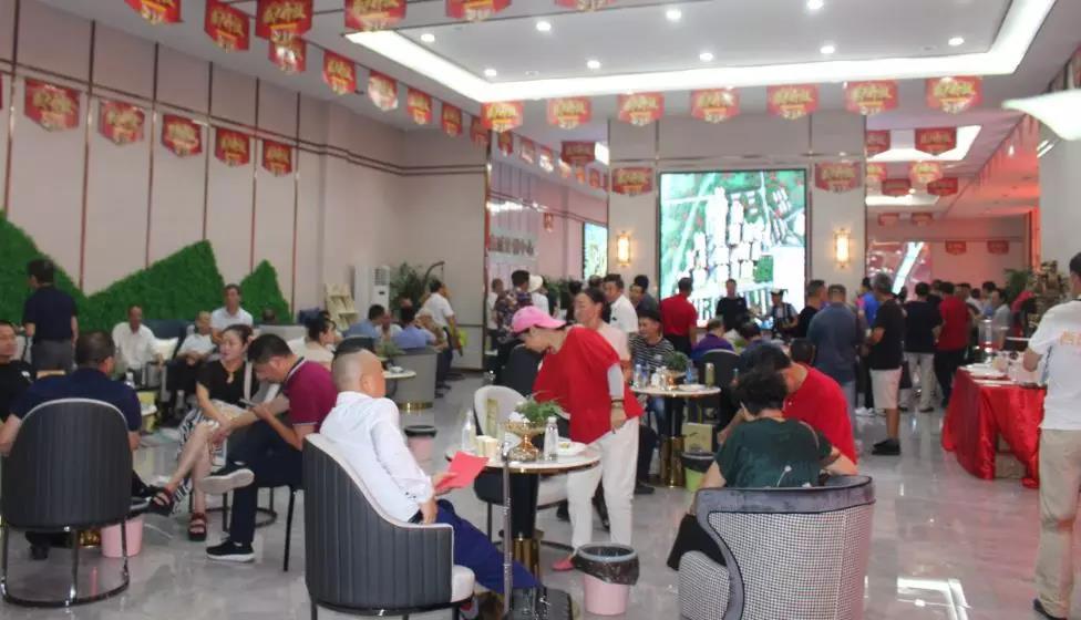 大悟西岳鑫城营销中心大厅接待区实景图10