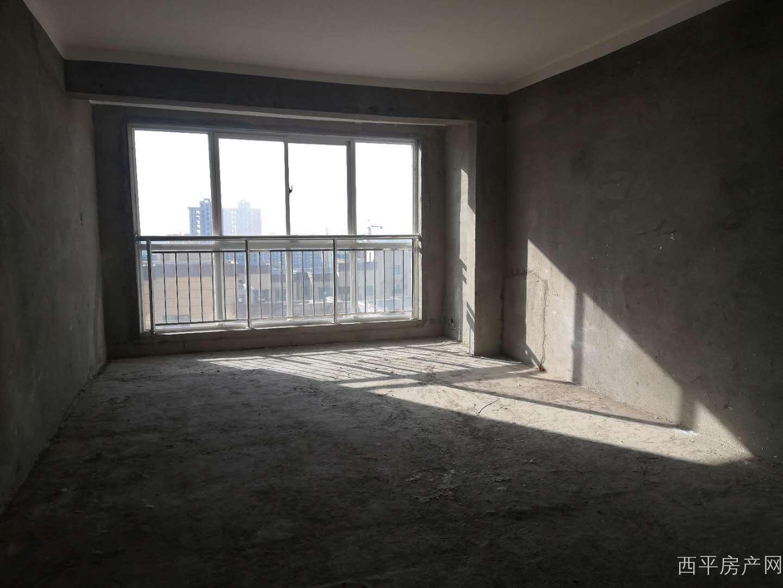 美景现代城电梯中层大三居 毛坯三室两厅两卫 户型方正