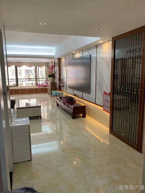出售: 中信华府黄金楼层新中式豪华装修141.5方,3房2厅, 开价11900元